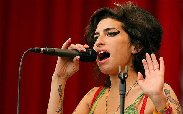 Deeply troubled: the documentary 'Amy' looks at the singer's many personal demons