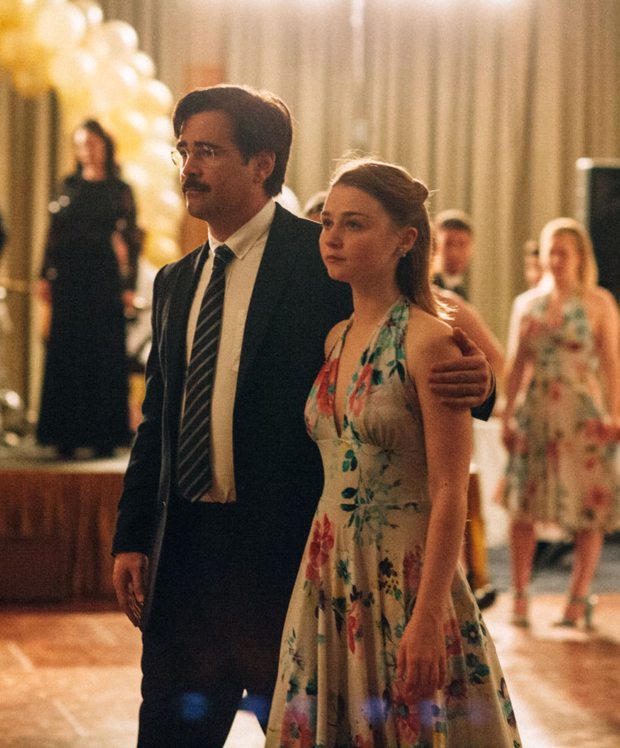 New romance: Colin Farrell and Jessica Barden in The Lobster