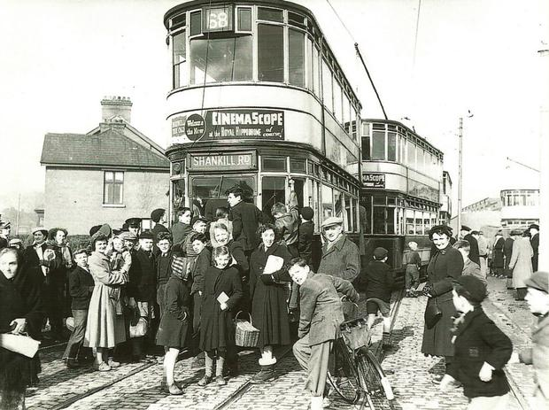 In the years between 1938 and 1968 to be exact - there were 245 of these double-deckers carrying passengers silently and swiftly over 17 routes