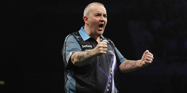 2017 Betway Premier League Darts at the SSE Arena, Belfast.