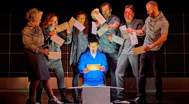 The Curious Incident of the Dog in the Night-Time runs at the Grand Opera House this week.