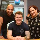 Q Radio's Ibe Sesay and Yazz Zemmoura welcome their newest team member, Eoghan Quigg.