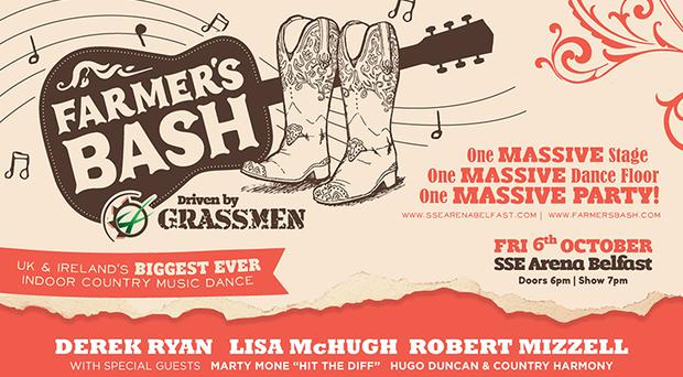 Farmer's Bash will take place at the SSE arena in October.