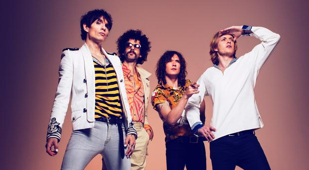 The Darkness will play in Belfast this year. (Simon Emmett)