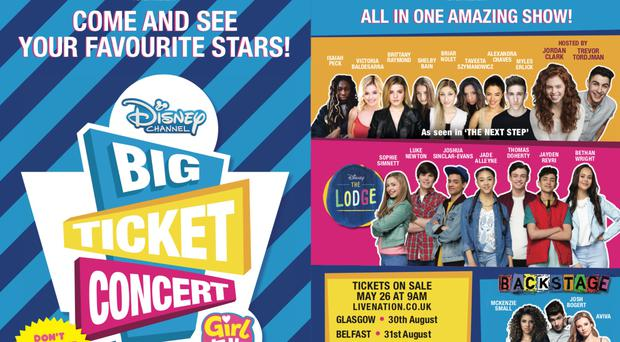 The Big Ticket concert will take place in Belfast in August.