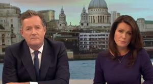 Piers Morgan and Susanna Reid.