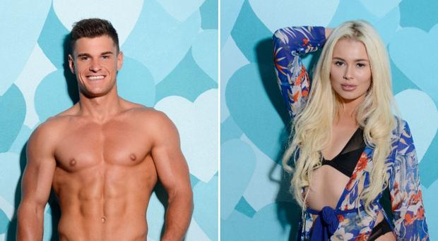 Rob Lipsett and Shannen Reilly McGrath will enter Love Island on Thursday.