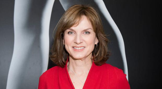 Speaking out: Fiona Bruce
