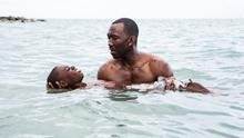 Growing pains: Mahershala Ali and Alex Hibbert in Moonlight