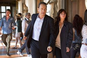 Running man: Tom Hanks with Felicity Jones in Inferno