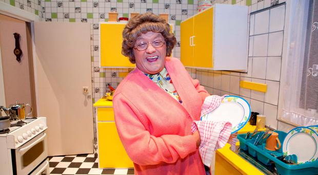 Brendan O'Carroll's Mrs Brown's Boys attracted the biggest TV audience on Christmas Day