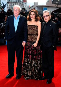 Michael Caine, Rachel Weisz and Harvey Keitel at the Youth premiere last night