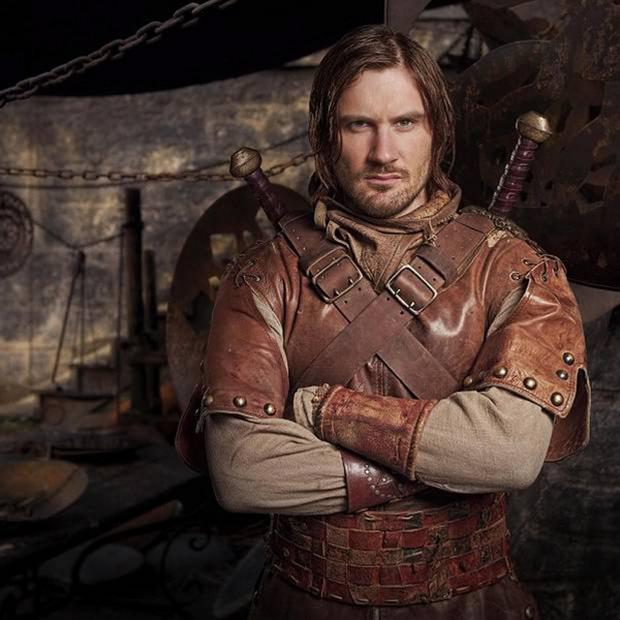 Action role: Clive Standen
