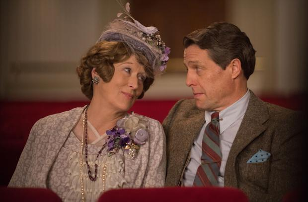 Odd couple: Meryl Streep and Hugh Grant in Florence Foster Jenkins