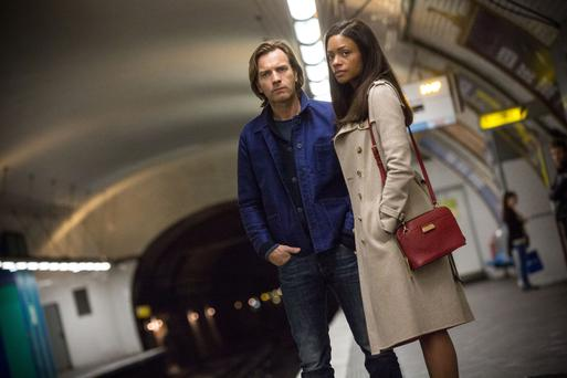 Challenging role: Ewan McGregor and Naomie Harris in Our Kind Of Traitor