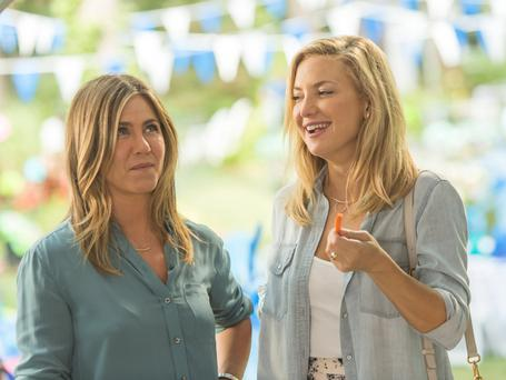 Star cast: Jennifer Aniston (left) and Kate Hudson in Mother's Day