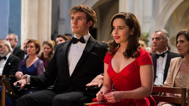 Love bond: Emilia Clarke and Sam Claflin in Me Before You