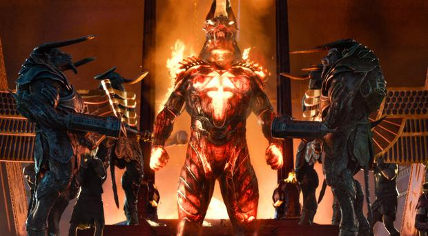 Fired up: Gods of Egypt looks the part but fails to deliver