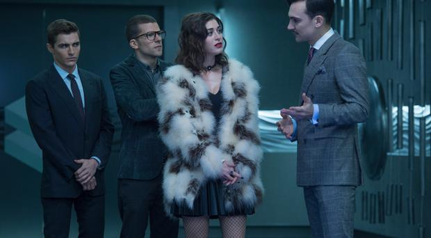 Disappearing act: Dave Franco, Jesse Eisenburg, Lizzy Caplan and Henry Lloyd-Hughes in Now You See Me 2