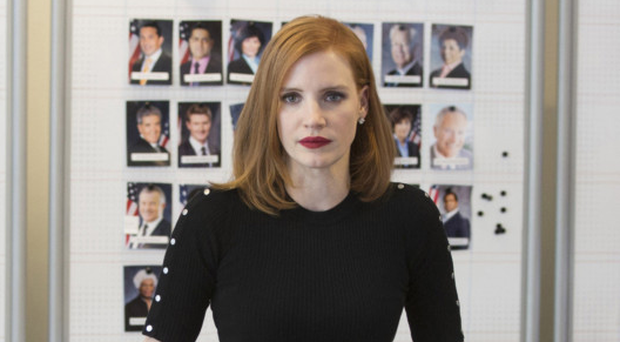 Driven woman: Jessica Chastain in Miss Sloane