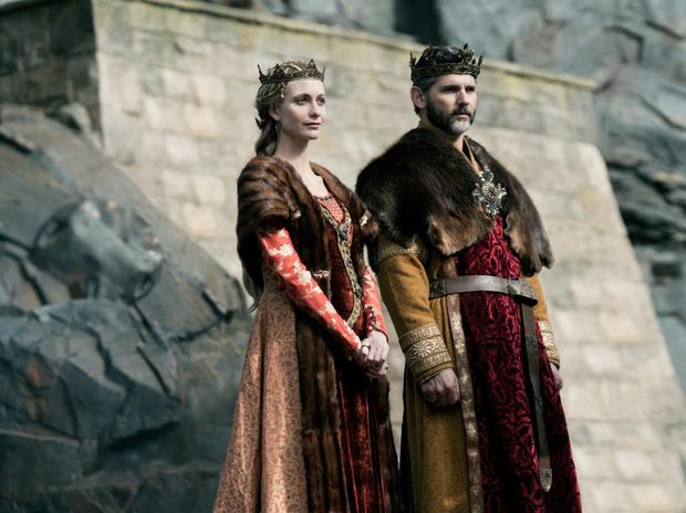 Great knight: Poppy and Eric Bana in King Arthur: Legend of the Sword