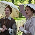 Dickinson sisters: Cynthia Nixon (left) and Jennifer Ehle