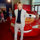 Role model: Owen Wilson is the voice of Lightning McQueen