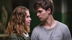 Driven to distraction: Lily James and Ansel Elgort star
