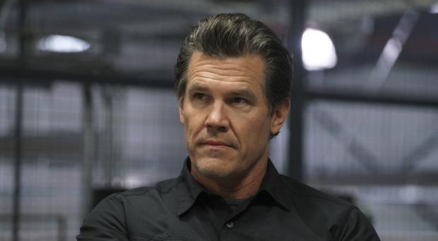 Back for more: Josh Brolin as Matt Graver