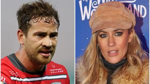Danny Cipriani and his rugby teammates will pay tribute to Caroline Flack at their next game (PA)