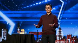 Magician Marc Spelmann has discussed what he plans to conjure up in the BGT semi-final. (Syco/Thames)Britain's Got Talent: SR12: Ep1 on ITVPictured: Marc Spellman.This photograph is (C) Syco / Thames and can only be reproduced for editorial purposes directly in connection with the programme or event mentioned above, or ITV plc. Once made available by ITV plc Picture Desk, this photograph can be reproduced once only up until the transmission [TX] date and no reproduction fee will be charged. Any subsequent usage may incur a fee. This photograph must not be manipulated [excluding basic cropping] in a manner which alters the visual appearance of the person photographed deemed detrimental or inappropriate by ITV plc Picture Desk. This photograph must not be syndicated to any other company, publication or website, or permanently archived, without the express written permission of ITV Plc Picture Desk. Full Terms and conditions are available on the website www.itvpictures.co.ukFor further information please contact:james.hilder@itv.com / 0207 157 3052