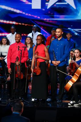 The Chineke! Junior Orchestra (ITV)