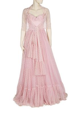 The dress Newton-John wore to the premiere (Julien's Auctions)