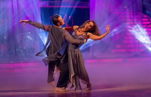 Louise Redknapp and Kevin Clifton (Guy Levy/BBC/PA)