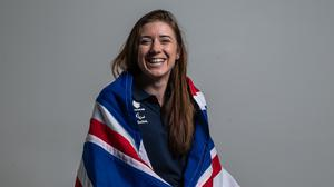 Libby Clegg is to join Dancing on Ice (Steven Paston/PA)