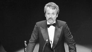 William Goldman accepts his Oscar for All The President's Men (AP Photo, File)