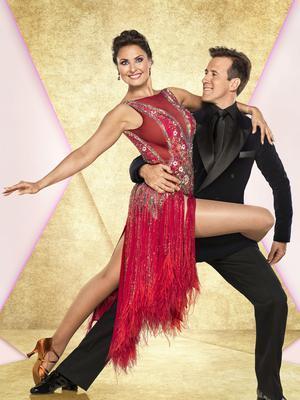 Anton du Beke, pictured with his Strictly dance partner Emma Barton, said he would not have any issues with having a male partner (Ray Burmiston/BBC/PA)