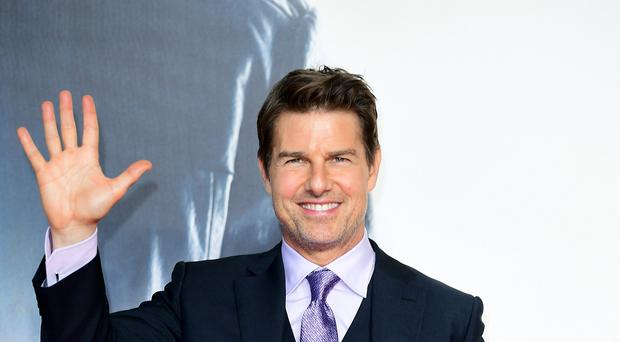 Tom Cruise stars in the trailer for Top Gun: Maverick (Ian West/PA)