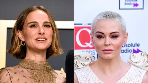 Natalie Portman has responded after actress and activist Rose McGowan called her a 'fraud' (Jennifer Graylock/Ian West/PA)