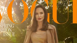 Angelina Jolie said she has been focusing on 'healing our family' amid her split from Brad Pitt (Craig McDean/PA)