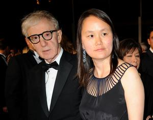 Woody Allen and his wife Soon Yi Previn have responded to a new high-profile documentary about the abuse allegations against the director (Fiona Hanson/PA)