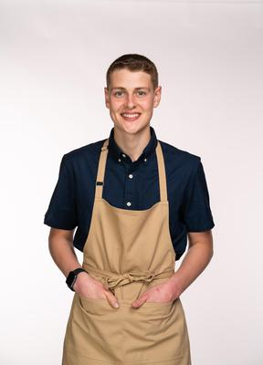 Peter has been baking since he was a child and will be hoping his experience counts when it matters (C4/Love Productions/Mark Bourdillon)