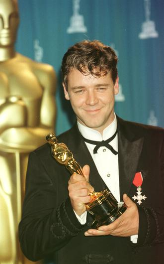 Russell Crowe won the best actor Oscar for his leading role in Gladiator (William Conran/PA)