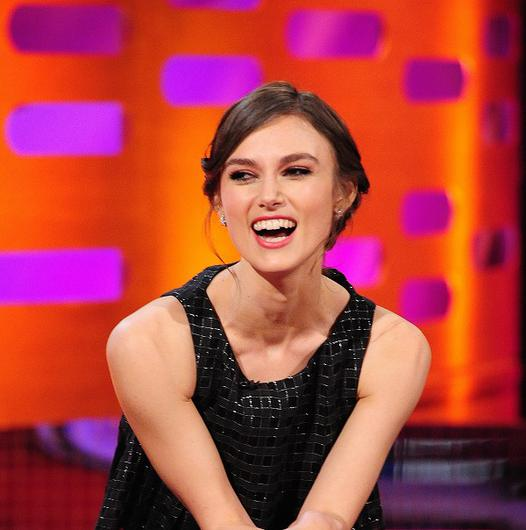 Keira Knightley admitted Joe Wright forbid her from making her signature pout on Pride And Prejudice