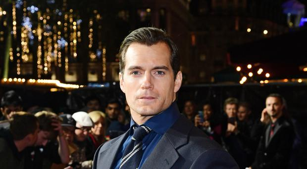 Henry Cavill attending the world premiere of Netflix's The Witcher (Ian West/PA)