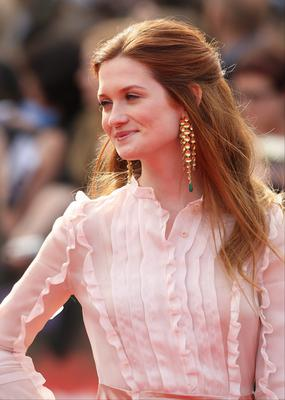Bonnie Wright uses her platform to campaign on environmental issues (Dominic Lipinski/PA)