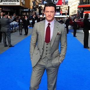 Luke Evans can't wait to remake The Crow