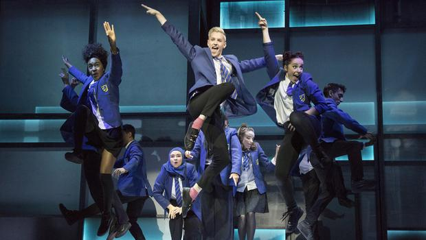 The Everybody's Talking About Jamie musical being performed at the Apollo Theatre in London (Alastair Muir)
