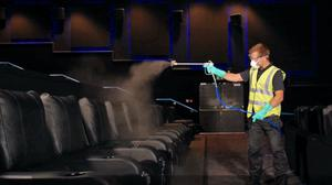 Anti-viral fogging machines will be part of the Covid-19 process at Showcase Cinemas (Showcase Cinemas/PA)