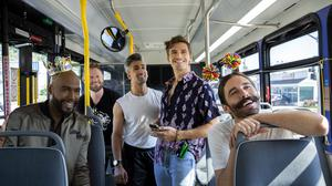 The Fab Five return for series three of Queer Eye (Netflix/PA)